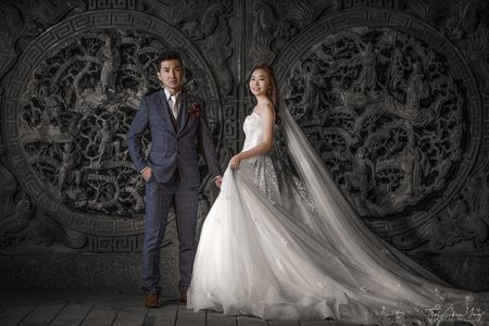 婚禮紀錄WEDDING | 台南-關廟山西宮 | 幸運草攝影工坊