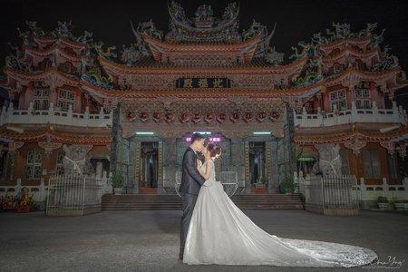 台南-歸仁六甲里北極殿 | 幸運草攝影工坊|結婚