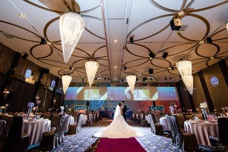 台南東東永大幸福館-綺麗世界聽 | 幸運草攝影工坊|結婚