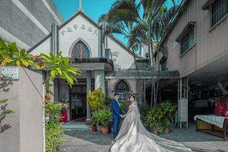 嘉義-台灣基督長老教會民雄教會 | 幸運草攝影工坊|結婚