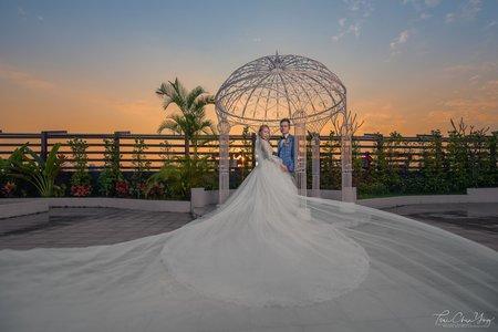 高雄享溫馨婚宴會館-蔚藍海洋廳 | 幸運草攝影工坊|結婚