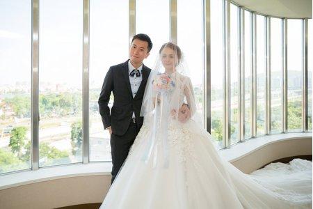 教會婚禮 ((FM1982))高雄 漢來大飯店巨蛋會館 【Kenny & Olivia】