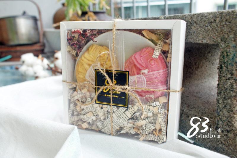 鯛魚燒香氛蠟燭禮盒包裝