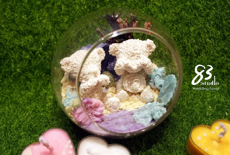 奢華送禮方案-水晶蠟燭系列作品