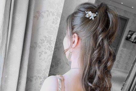 【Wedding】♥ 細軟少量髮新娘
