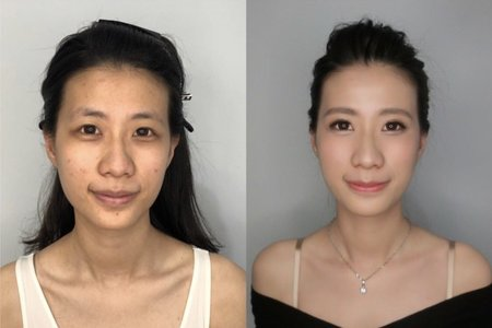 【Before&After】♥ 眼型調整