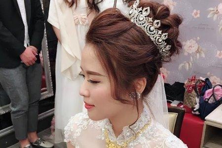 Zona makeup婚宴造型 芸萱