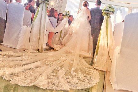 Zona makeup 浪漫海邊教堂婚禮