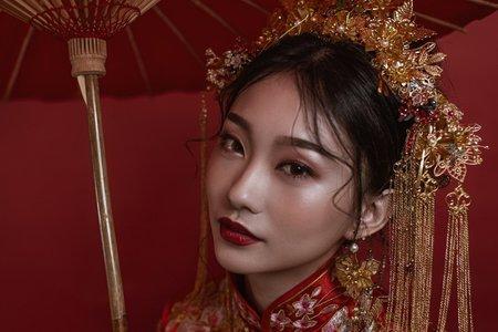 霸氣女王-中式新娘造型