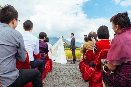 關山婚禮攝影|秉宏+ASHELY 稻田戶外證婚婚宴