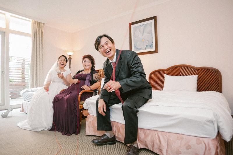 宙斯婚禮 高雄西子灣婚禮紀錄迎娶婚攝小左