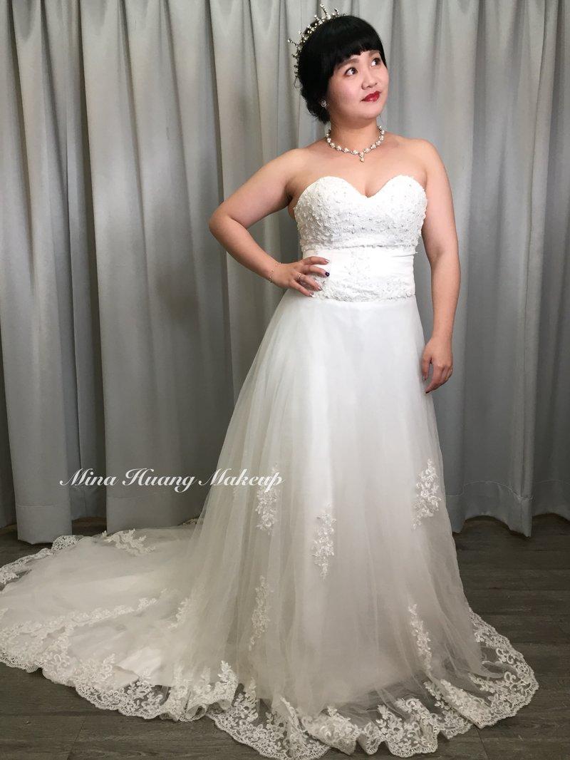 新娘美美出嫁作品