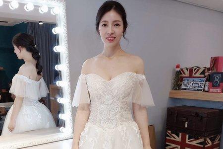 👰🏻新娘美美出嫁💓白紗造型/超長頭紗