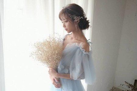 Irena 妝髮,日系空氣感
