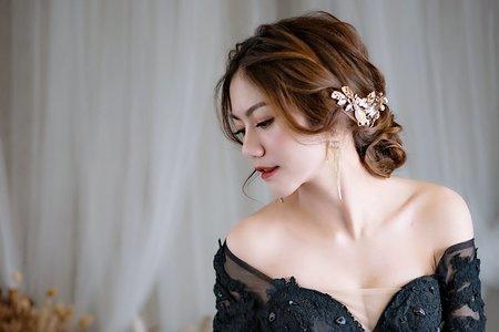 浪漫低髻髮