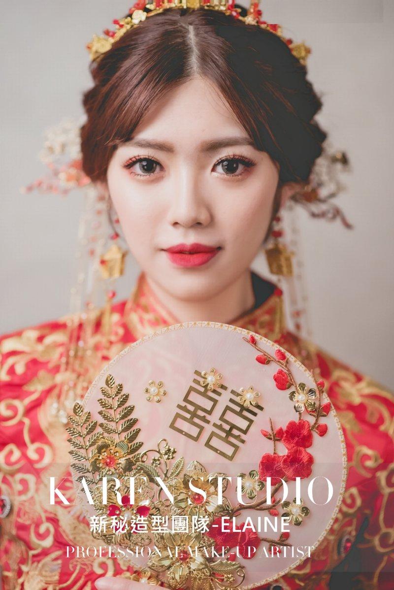 中式妝髮作品