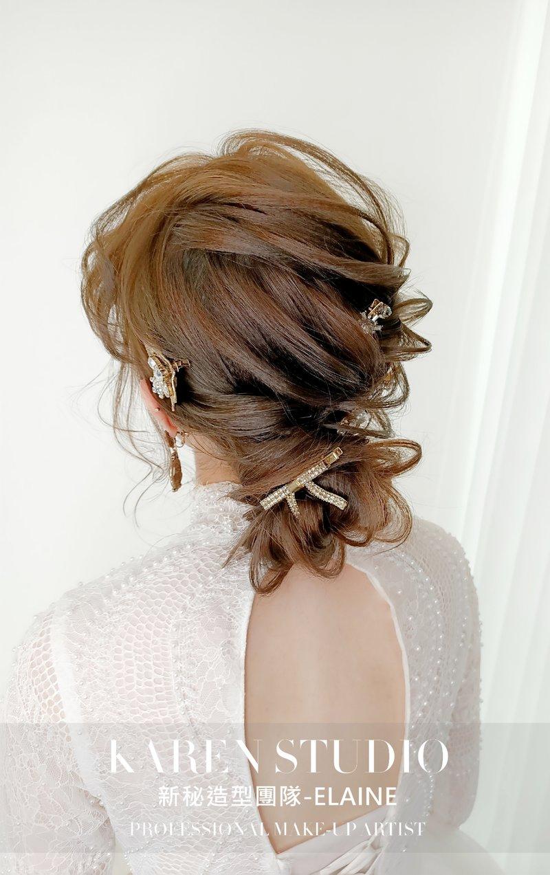 新娘妝髮作品