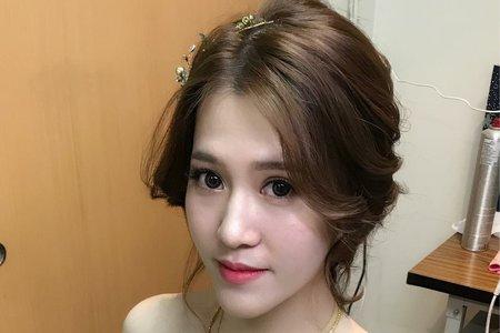 Mandy Tiao /婚宴造型/高雄新秘
