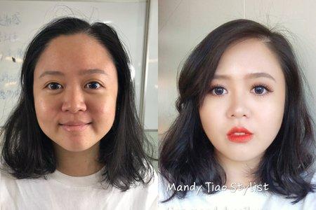Mandy Tiao正修科技大學 <分享造型課程>