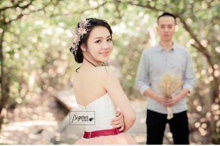 Mandy Tiao Stylist/自助婚紗