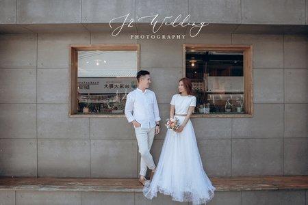 J2 wedding 板橋 中壢(韓風自然)台北街景&咖啡廳