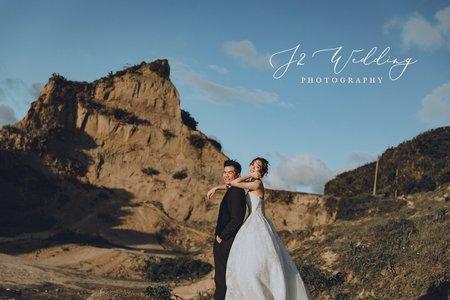 J2 wedding (美式自然)街景 水牛坑