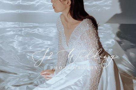 J2 wedding 2021 手工訂製婚紗