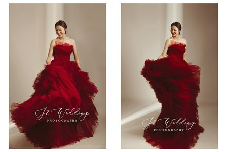 J2 wedding 2021手工訂製婚紗
