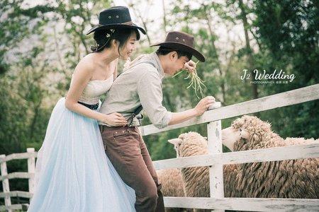 J2 wedding 中壢(韓式輕婚紗)