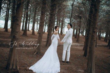J2 wedding 中壢(美式輕婚紗)