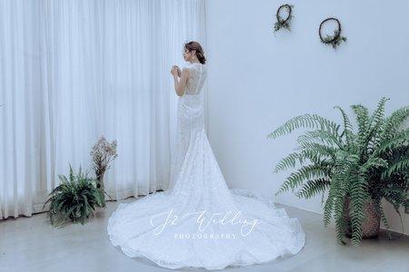 J2 wedding 手工訂製 輕婚紗系列