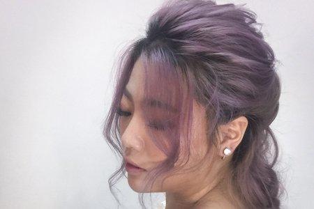 韓風輕妝髮