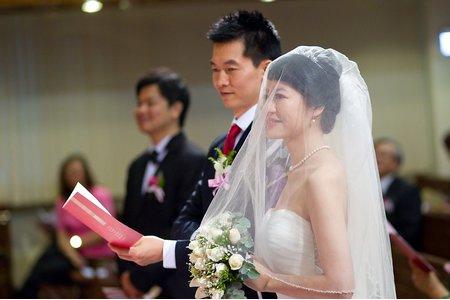Yang&Hsu教堂婚禮@台北信友堂 新秘陳靜瑀 婚攝SEAN YEN