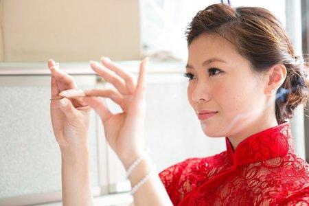 台南大億麗緻 家豪&思佳文定 新秘Chico 婚攝SEAN YEN