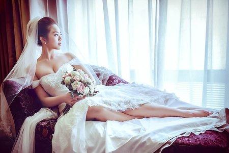 台南台糖長榮酒店 世明&亦軒婚禮 新祕Kristi Liu 婚攝SEAN YEN