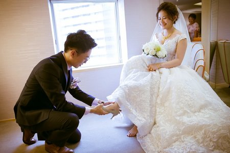 高雄漢來巨蛋會館 Evan&Charlene婚禮 新秘Doris Li 婚攝SEAN  YEN
