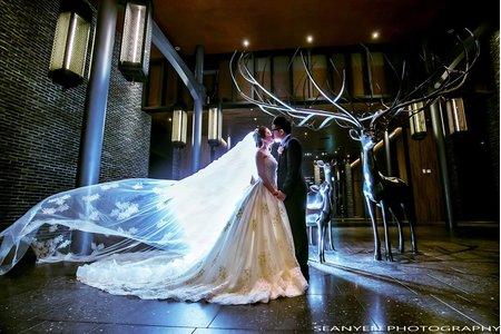 MLD台鋁晶綺盛宴 珊瑚廳 宜新&姿文婚禮 新秘Doris Li 婚攝SEAN YEN
