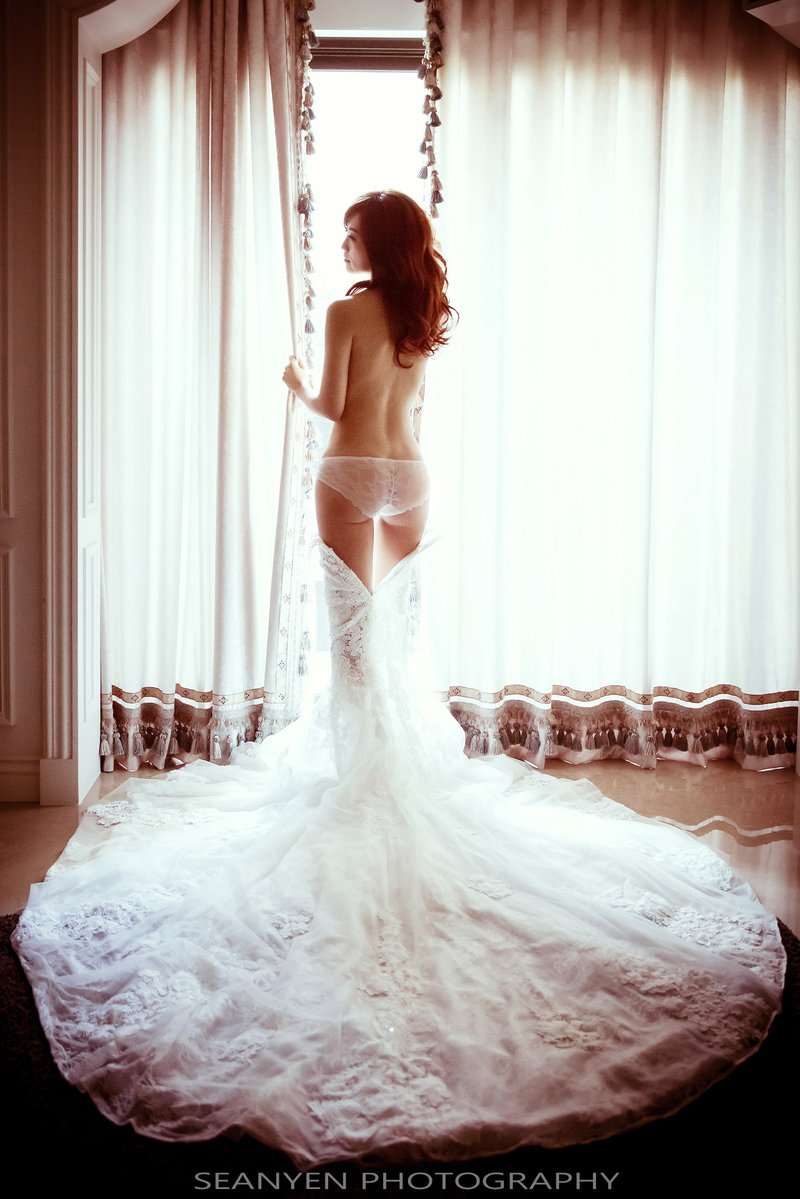新娘閨房寫真(婚禮前後)作品