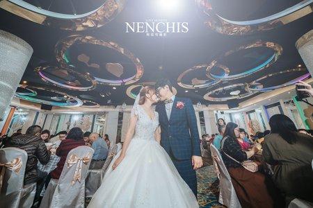〔婚攝〕彰化員林食觀天下/婚攝起司 Chis Studio⋅Nenchis婚禮紀錄