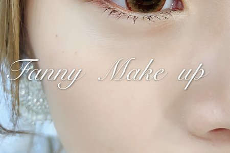 要求眼妝 我也更要求底妝 輕透薄  眼妝簡單乾淨有神 我更愛
