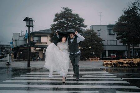 飛驒、合掌自助婚紗