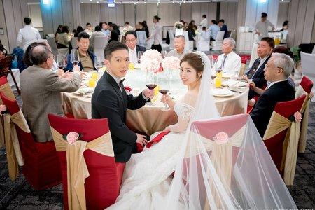2019.03.29 文賓+京樺 訂結晚宴 (晶華婚宴 萬象廳)