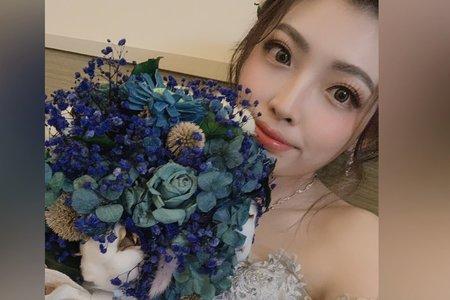 新娘好美 捧花好美