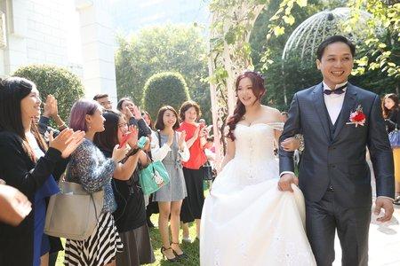 台中婚攝木瓜 戶外證婚 偉與怡 訂結紀錄