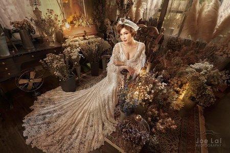 復古華麗婚紗創作