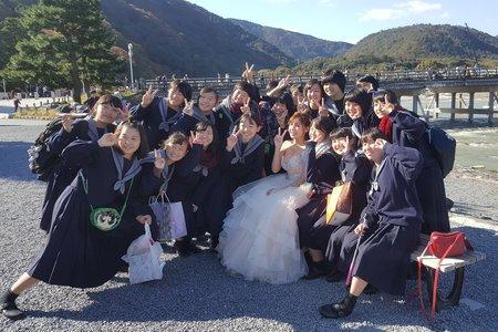 日本海外婚紗 手機側拍