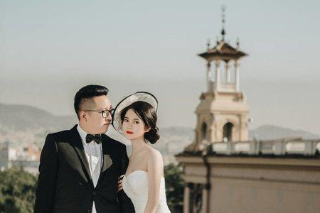 海外婚紗 西班牙