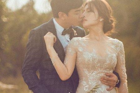 浪漫銀色晚禮服