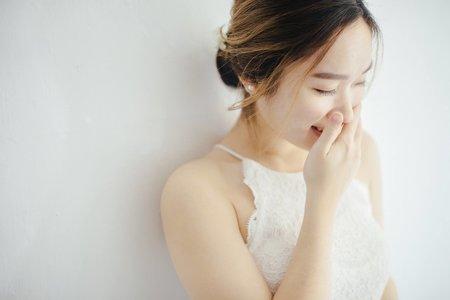 簡約美式白紗