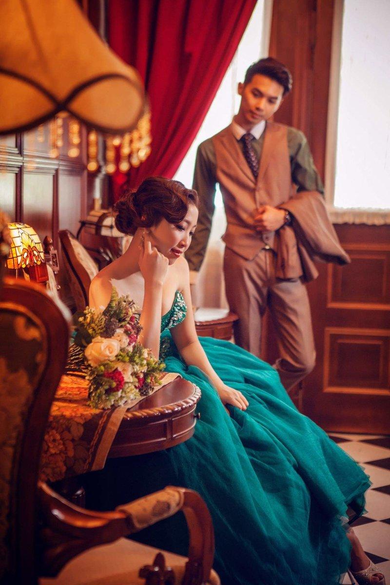 超值優惠婚紗包套,只要18800!作品